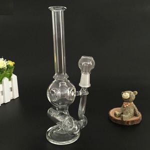 tubi di acqua di vetro rig Mini olio di riciclo due funzioni Bubbler Bong Inline Donut caffettiera a filtro 14 millimetri Maschio dimensione del giunto