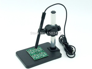 Livraison Gratuite 2014 Nouveau Zoom 1-600X Microscope USB Focal Continu 6 LED 2 Méga-Pixels Endoscope De Poche