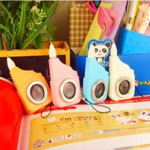 Frete grátis Korea Creative Papelaria Bonito Câmera Forma Ballpoint Pen School Fornecedores Estudante Prémios Ballpoint Pen 30 pçs / lote, Dandys