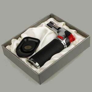 XL 메탈 재충전 용 부탄 토치 라이터 방풍 형 제트 화염 주방 Brulee 요리 용 마이크로 토치 라이터 도구 액세서리 가스 불필요