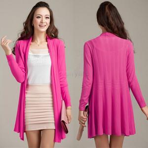 Plus Size Cardigans Longos Blusas De Malha 2014 Moda Feminina Cardigan Oco out Crochet Outono Casuais 31
