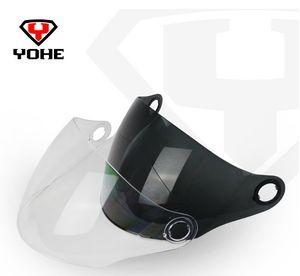 الجملة-- الأصل yohe 863a خوذة قناع دراجة نارية الخوذ المضادة-- الأشعة فوق البنفسجية-- خدش Lensshield الشحن مجانا