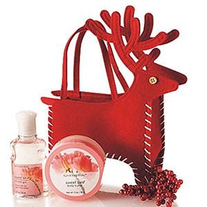 Noel Şeker Çanta Santa Geyik Ren Geyiği El Çantası Hediyeler Tutucu Noel Tedavi Hediye Çanta Cep Büyük Hediye Fikirleri