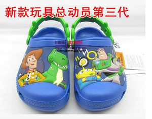Wholesale-Free shipping, wholesale toy block 3 d block plane garden shoes children's sandals, slippers boys and girls