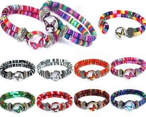 New National Charm Bracelets Noosa TrendyBracelet Snap Button Bijoux Bracelet Meilleur cadeau noosa bracelet bricolage bijoux 17112909