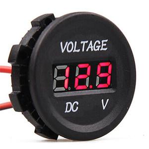 Medidor de voltaje digital automotriz detector de voltaje para instrumento de vehículo | medidor de voltaje automático