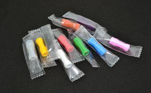 510 Silikon Ağızlık Kapak Damla Ucu Tek Kullanımlık Renkli Silikon test caps kauçuk kısa ego Test İpuçları Test Cap damla İpuçları ecig Için DHL
