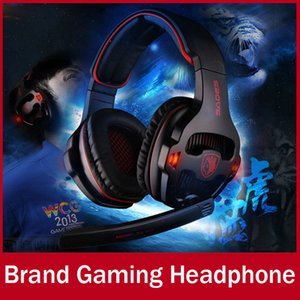 SADES A903 Professional Gaming Headphone Headset For Computer Gamer USB Plug 7.1 Surround Stereo Bass Earphone With Mic