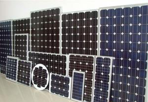 efficiente 200w pannelli solari fotovoltaici SunPower 36V Solar System efficienza di carica del 17% 5 anni di garanzia della durata di servizio di 25 anni