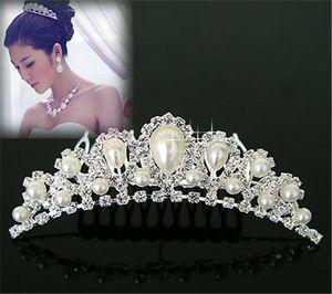 Braut Kopfschmuck Hochzeit Kopfschmuck Braut Kopfschmuck Mode Hochzeit High-drade Diamant Ornament Kopfschmuck Hot Hochzeit elegante Schmuck Ornament