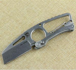Hohe qualität !!! Wolf Tattoo Taktisches Messer DPx HIT Messer Mit CPM-S35VN Stahlklinge Camping Jagdmesser Cutter Outdoor Tasche Überlebenswerkzeug