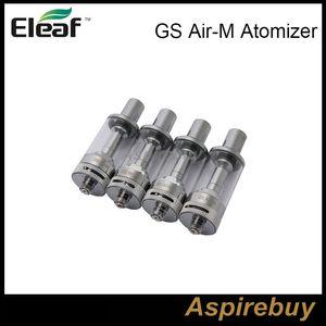 100% оригинал Eleaf GS Air-M Форсунка 4мл GS Air Mega Танк Dual Coil Расход воздуха Регулируемый Clearomizer Лучший матч Eleaf iStick 20W