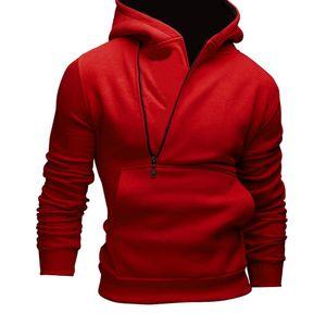측면 지퍼 히트 색상 스웨터 코트 후드 티를 hedging 도매 2018 새로운 남성 캐주얼 편지