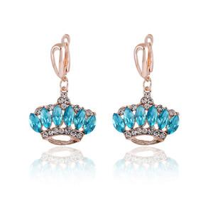 Dernière collection de bijoux de mariage de conception coréenne 2015 Boucles d'oreilles de charme avec vente en ligne Pas cher de bijoux