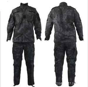 Tático Cascavel Mandrake BDU Combate Terno Uniforme Conjunto Camisa Calças Ripstop para Gun lutador com estilo Kryptek