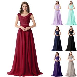 Image réelle Designer Sexy Robes Cérémonie perles Robes de mariée chérie Appliques Sans manches Robes de bal Pageant Robes CPS233