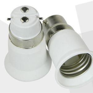 Edison2011 LED Lampensockel Adapter E27 auf B22 E14 Konverter für LED Lampenfassung LED Lampensockel Fassung Stecker