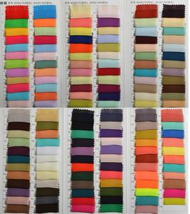Campioni di colore chiffon Nuovi campioni di tessuto per abiti da festa formale Abiti Vestidos de Madrinha Tessuto 100cm * 150cm