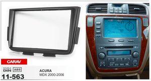CARAV 11-563 ACURA MDX için Yüksek Kalite Radyo Fasya 2000-2006 Stereo Ön Pano Dash CD Trim Kurulum Kiti
