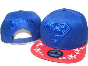 Nuovo stile di trasporto libero cotone Batman superman cappello di snapback di snapback di snapback cappello moda casual cappelli da baseball per uomo donna