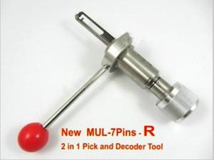 TOP NEW 7 PIN-код PICK MUL-T-T-LOCK 2 в 1 Замок Пик и декодер Слесарь Инструмент Бесплатная Доставка