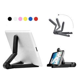 Портативный откидывающийся Регулируемый планшетный стенд держатель кронштейн для Apple Ipad Mini Kindle Android Samsung Tablet с розничным пакетом