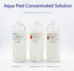 Aqua Peeling Solution / Aqua Peel Solution concentrée 400 ml par bouteille Aqua visage Sérum Hydra Sérum visage pour peau normale