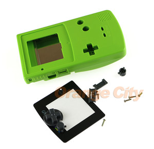 Cor Full Habitação Shell para GBC Console Case Shell Whole Set