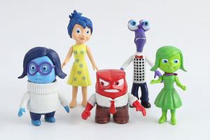 Innen Heraus PVC 6 Teile / satz Action-figuren spielzeug Von Angst Glück Traurigkeit Wut Spielzeug Action Spielzeugfiguren Für Weihnachtsgeschenk für kinder