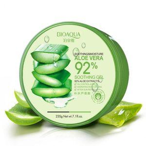 BIOAQUA Natural Aloe Vera гладкий антибактериальный успокаивающий гель лечение акне крем для лица увлажняющий контроль масла уход за кожей