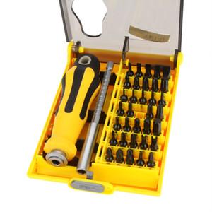 NO.9153 37 en 1 Juego de herramientas de reparación de juego de destornilladores de precisión multiusos para PC de teléfono móvil / celular Orden de TV portátil $ 18no rastro