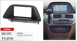 CARAV 11-219 car 2DIN fascia facia panel plate frame for HONDA Odyssey 2005-2010 Stereo Fascia Dash CD Trim Installation Kit