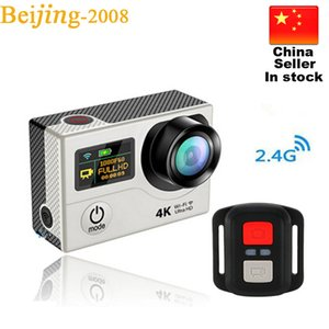 ترقية Eken H3 H3R Action camera كاميرات الفيديو عالية الدقة 4K الرياضية مع 2.4G التحكم عن بعد 2 '' الشاشة المزدوجة مصغرة كاميرا الفيديو 010225