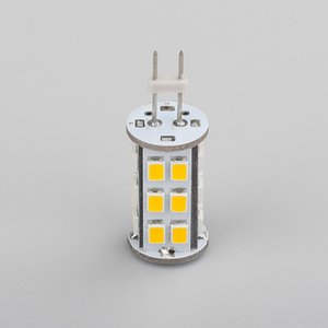 G4 Led Lampe 2835SMD Lichtquelle 27LEDs super helle 4W dimmbare Lampe 12VDC gut für Home Office-Boots-Auto-5PCS / Lot