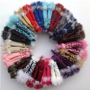 Меховые перчатки кролика, перчатки леди зимой без пальцев, перчатка ручной запястья, перчатки полупансины