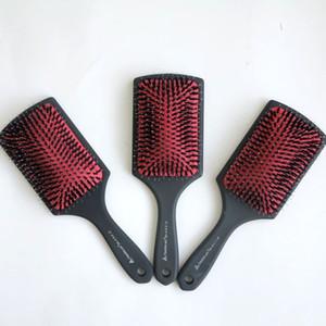 أعلى جودة فرشاة الشعر مشط مقبض بلاستيكي مع أدوات الشعر الخشن المغلفة بالمطاط الشعر الخشن أدوات شحن مجاني