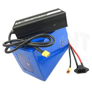 BOOANT Vélo Électrique Batterie 48V 60AH Batterie Au Lithium 48V 800W 1200W 2000W 2500W Pour Bafang Moteur + 5A Chargeur EU US AU Duty Free