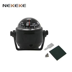 NEKEKE voiture Guide boussole bateau de mer de balle, bon marché, de haute qualité, vente chaude pour les yachts de bateaux VR, voitures, motos