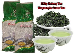 250g 최고급 중국어 우롱 차, 철관음 차 새로운 유기 자연 건강 케어 제품 선물 타이 guan 인 차