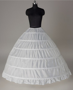 6 Hoop Petticoat Für Ballkleid Hochzeit Zubehör Quinceanera Kleider Rot Schwarz Weiß 110-120 cm Durchmesser Unterwäsche Krinoline