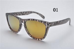 Neue Ankunft Klassische Frogskin Stil Sonnenbrille Mode Marke Reflektierende Linse Brillen Für Sommer Radfahren Brillen Polarisiert