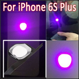 Pour iPhone 6S Plus Fashion Night Glow LED Light LOGO pour iPhone 6S Plus 5.5 Glowing Logo Rapide Livraison gratuite