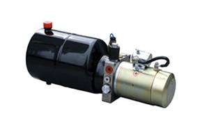 12vdc unidade de embalagem de energia hidráulica para carro mesa de empilhadeira hidráulica engrenagem de bombeamento único cilindro do motor