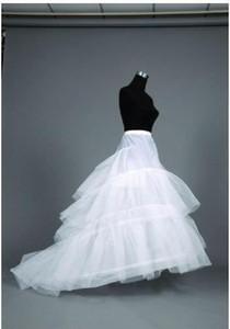 LIVRAISON GRATUITE A-Line Robe de mariée Petticoats Tailles réglables Crinoline Bridal Accessoires Underkirt pour Wedding Prom Quinceanera Robes