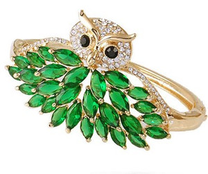 more color crystal owl women's bracelet xgspc)