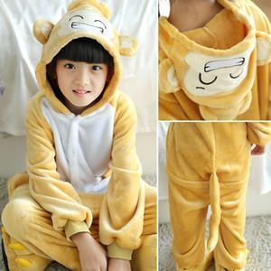 2018 Unisex Tiger 아동용 플란넬 코스프라스 코스프레 잠옷 kids Cartoon 귀여운 동물 Onesies Pyjama Babys Tide의 잠옷 세트