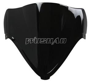 2008-2014 Suzuki GSXR1300 GSXR 1300 Hayabusa için Motosiklet Cam WindScreen 08 09 10 11 12 13 14 2009 2011 2012 2013 Siyah