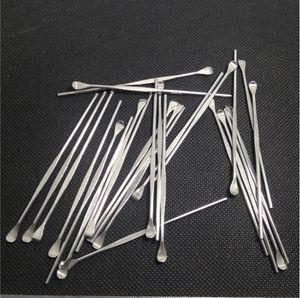 Outils de cire dabber pour ego evod atomiseur de cire ecig outil de tamponnage en acier inoxydable earpick pour stylo vaporisateur d'herbe sèche