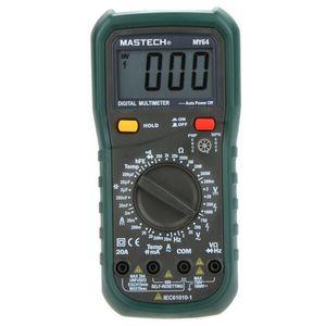 Multimetro digitale di Freeshipping Misuratore di temperatura di capacità DMM Tester di w / hFE Amperometro Multitester Multimetro