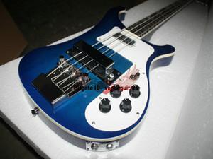 Custom 4003 Electric Bass blu 4 corde basso elettrico Nuovo stile